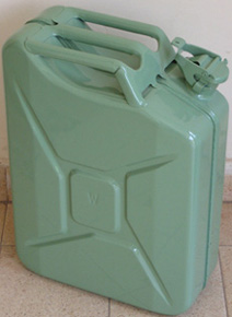 High quality Metal painted Jerry cans